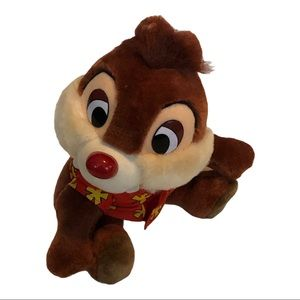 """Chip and Dale rescue rangers """"Chip"""" plush 10"""""""